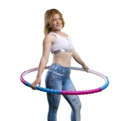 Hoopomania Body Hoop Hoop, Hula Hoop with 77 acu-pressure, 0.95kg