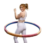 Hoopomania Vital Hoop, Hula Hoop with 40 magnets, 2.6kg