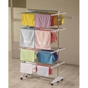 One Click luxus clothes dryer E4 Clothes tower with 4 levels