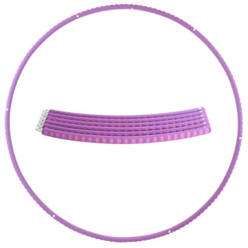 Hoopomania Profi Hoop, Hula hoop of metal and foam, 1.1kg