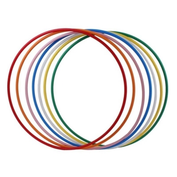 Hula Hoop Rohling, HDPE-16mm, farbig, Durchmesser 100/90/80/70/60cm