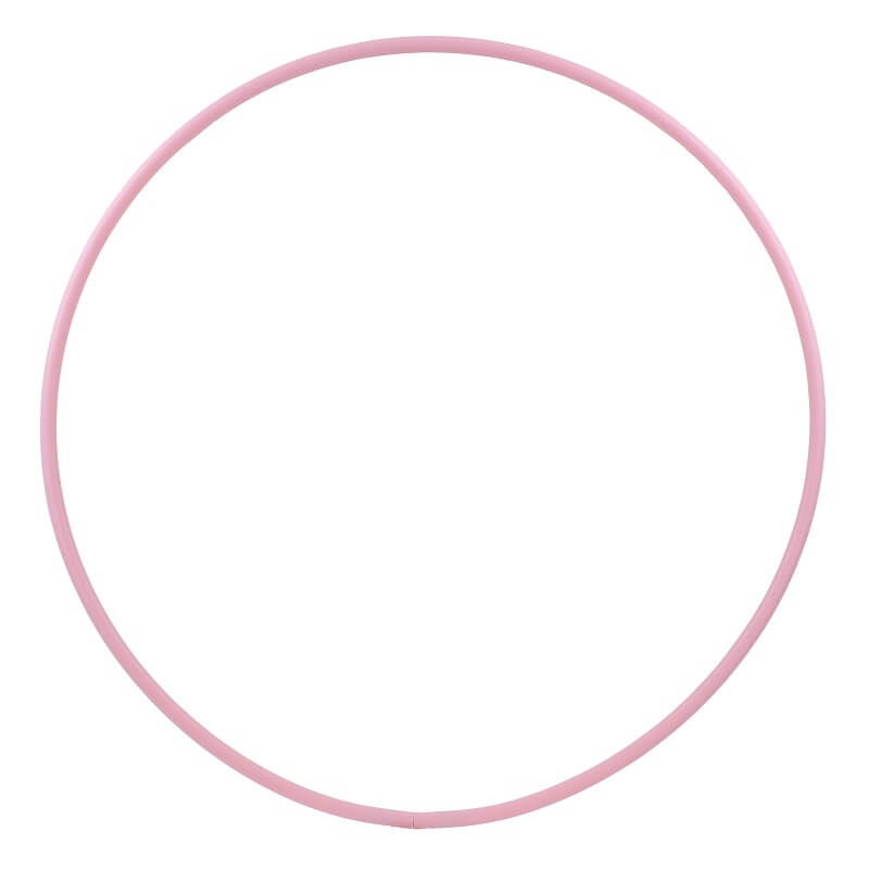 Hula Hoop Rohling, HDPE-16mm, PINK, Durchmesser 100cm