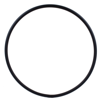 Hula Hoop Blank for MINI Hoop, PE-20mm, black, diameter 50cm