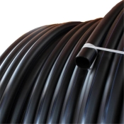 Plastic pipe made of PE-25 mm, BLACK