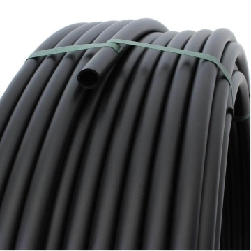 Plastic pipe made of PE-20 mm, BLACK