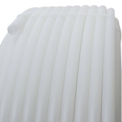 Tubo di plastica in HDPE 20mm, BIANCO (lattiginoso)