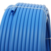 Plastic pipe made of HDPE-16 mm, BLUE