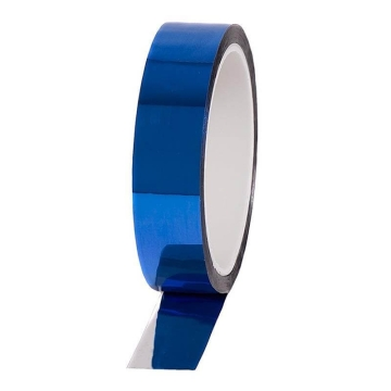 Nastro metallizzato Pro Sheen, 24mm x 33m, blu