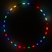 Hoopomania LED Hula Hoop with 25 lights, diameter 90cm