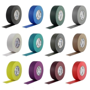 Pro Gaff Grip Tape, 25mm x 23m, coloré