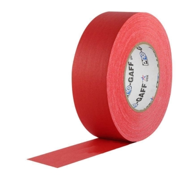 Pro Gaff Grip Tape, 25mm x 23m, red