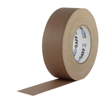 Pro Gaff Grip Tape, 25mm x 23m, brown