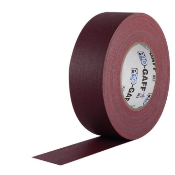 Pro Gaff Grip Tape, 25mm x 23m, burgundy