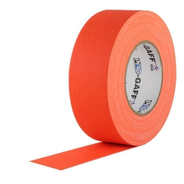 Pro Gaff Neon Grip Tape, 25mm x 23m, orange