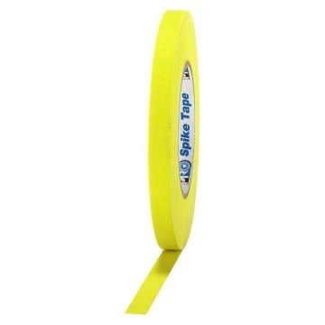 Pro Gaff Grip Tape, 12mm x 23m, yellow