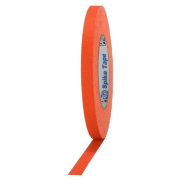 Pro Gaff Neon Grip Tape, 12mm x 23m, orange