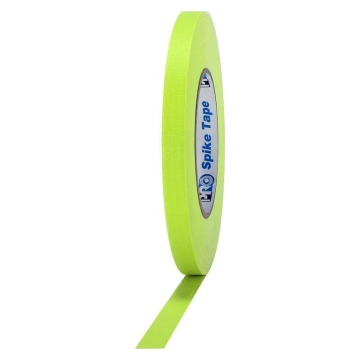 Pro Gaff Neon Grip Tape, 12mm x 23m, yellow