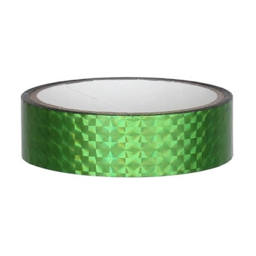 Hologramm Deco Tape 25mm x 30m, green