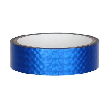 Hologramm Deco Tape 25mm x 30m, blue