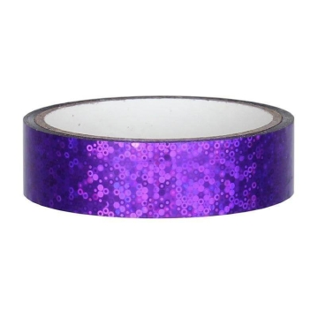 Glitter Deco Tape 25mm x 30m, violet