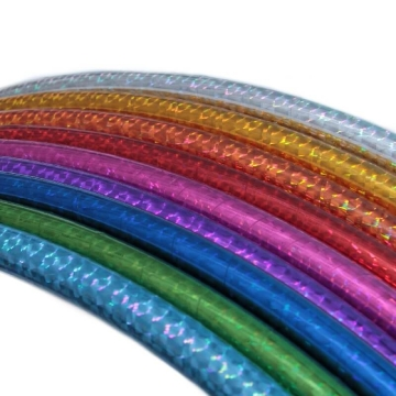 Circus Hula Hoop, holographic colors, Ø 70/75/80/85/90 cm