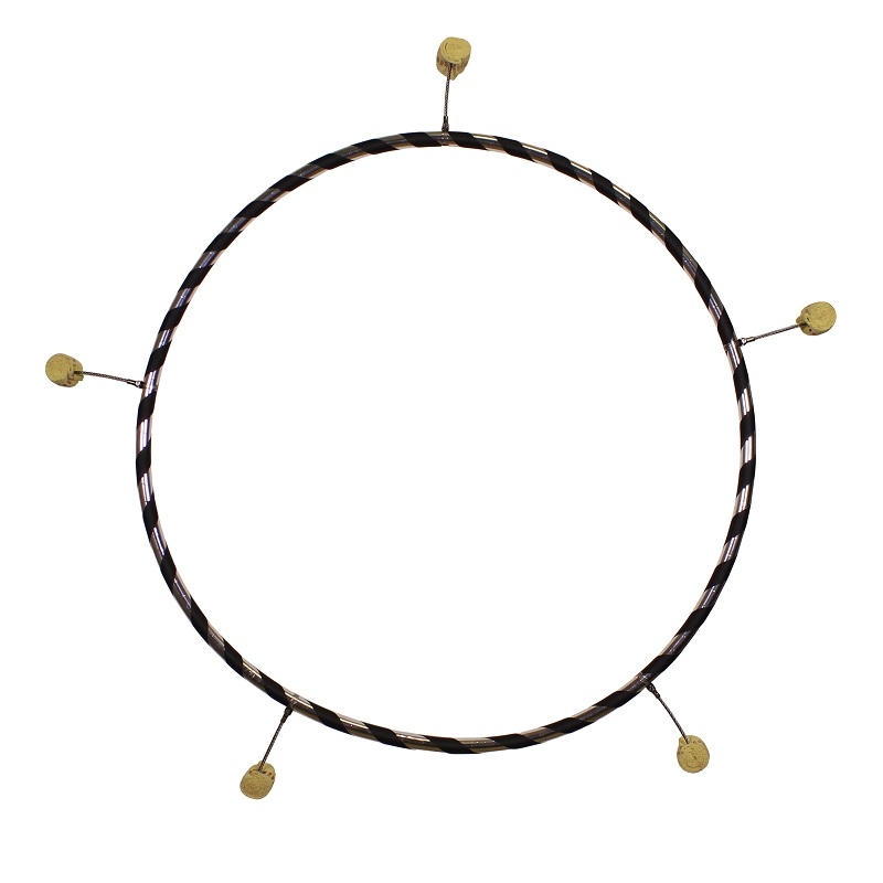 feuer hula hoop reifen 90 100cm mit 3 4 5 fackeln. Black Bedroom Furniture Sets. Home Design Ideas