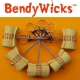 BendyWicks Fire Hula Hoop accessory for 16mm Hoop