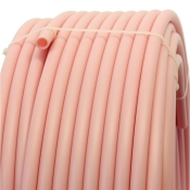Plastic pipe made of HDPE-20mm, PINK