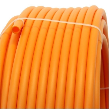 Plastic pipe made of HDPE-20mm, ORANGE