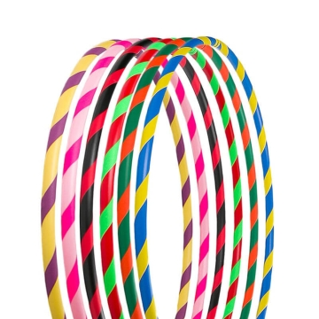 Colorful Hula Hoop, foldable, Ø90/95/100cm