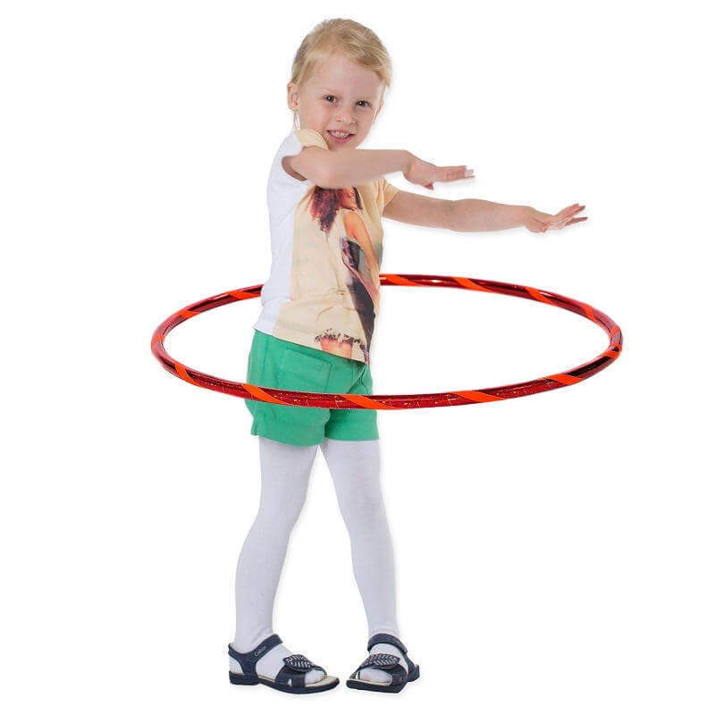 Super Star Kinder Hula Hoop, Ø60cm, Rot-Orange