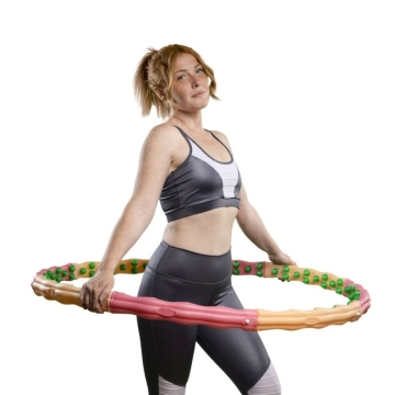 *second choice* Hoopomania Large Hoop, Hula Hoop with 96 magnets, 1.8kg