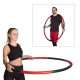 Hoopomania Weight Hoop Schaumstoff Hula Hoop, 1.5 kg Red Devil